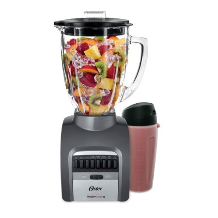 - Oster Smash Blend 14 Speed 300 Blender with Smoothie Cup