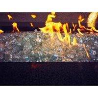 """Element Aquamarine 1/2"""" Large Fire Pit Glass"""