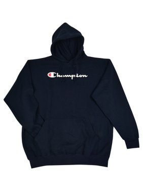 Product Image Champion Men s Big and Tall Script Logo Pullover Hoodie a1371ee71fa8