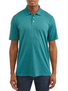 George Short Sleeve Solid Polo up to 5XL