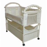 Clear-VUE Co-Sleeper - Natural