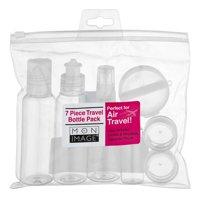 Mon Image 7 Piece Travel Bottle Pack - 7 CT