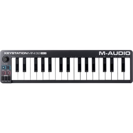 M-Audio Keystation Mini 32 MK3 Ultra-Portable Mini USB MIDI Keyboard