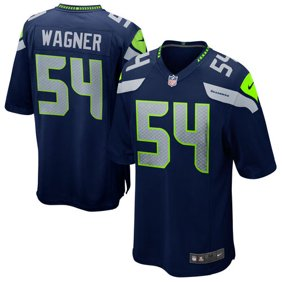 Mens Seattle Seahawks Bobby Wagner Nike College Navy Game Jersey 1af222fa9