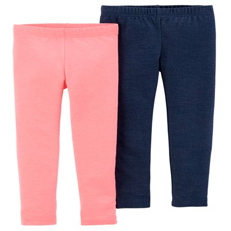 Solid Leggings, 2-pack (Toddler Girls)