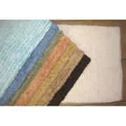 American Mills Solid Stripe Cotton Bath Mat 25050abb2