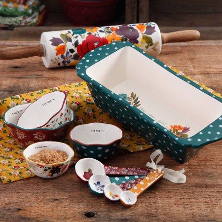 The Pioneer Woman Harvest Bakeware Set 10 Piece Walmart Com