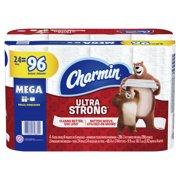 Charmin Ultra Strong Toilet Paper 24 Mega Roll, 286 Sheets Per Roll