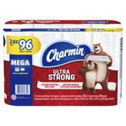 Charmin Ultra Strong Toilet Paper 24 Mega Roll, 286 Sheets Per Roll