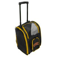 NCAA Southern Cal Trojans Premium Pet Carrier with Wheels