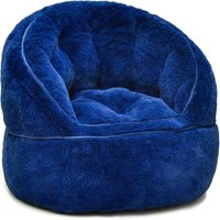 Urban Shop Kids Faux Fur Bean Bag Chair, Multiple Colors