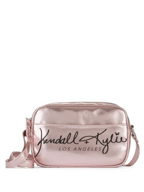 Kendall + Kylie for Walmart Pink Metallic Crossbody