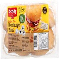 Schar Hamburger Buns, 10.6 Oz (Pack of 6)
