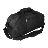 "DALIX 18"" Duffle Bag Two-Tone Sports Travel Gym Luggage Bag in Black"