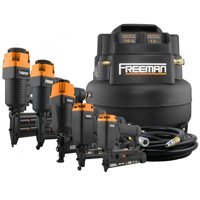 Freeman 5-Piece Nailer Kit w/6 Gallon Air Compressor & Accessories P5PCKW