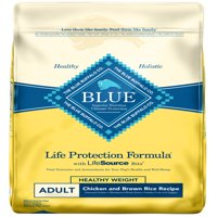 Blue Buffalo Life Protection Formula All Breeds Adult Healthy Weight Dry Dog Food, Chicken and Brown Rice Recipe, 30-lb