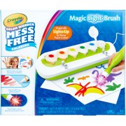 Crayola Color Wonder Magic Light Brush 2.0, Includes Six Paint Colors