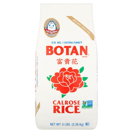 5 Lb Package - Botan Calrose Rice, 5 lb