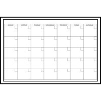 "WallPops! Whiteboard Dry Erase Monthly Calendar, 24"" x 36"""