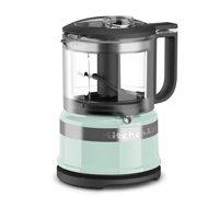KitchenAid Refurbished RKFC3516IC 3.5 Cup Mini Food Processor, Ice (Certified Refurbished)