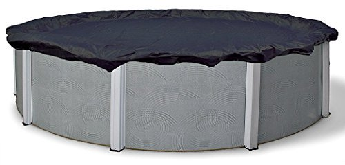 21 Ft Round Tight Mesh Above Ground Pool Winter Cover Debris Trap Cover Arctic Armor Platinum 4 Foot Overlap 8 Year Warranty