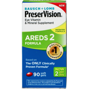 Bausch & Lomb PreserVision PreserVision Eye Vitamin & Mineral Supplement, 90 ea