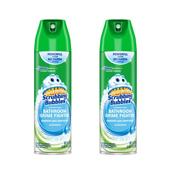 (2 pack) Scrubbing Bubbles Bathroom Grime Fighter Aerosol, Rainshower, 20 Ounces