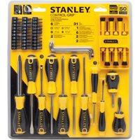 Stanley STHT66585 50pc Control Grip Screwdriver Set