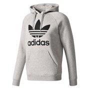 623a9fad9a5 New Mens Adidas Original Mens Trefoil Fleece Hoodie Hooded Sweatshirt  Pullover Jumper Gray