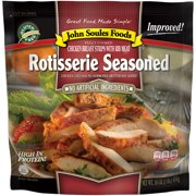John Soules Foods Rotisserie Style Chicken Breast Strips Seasoned, 16 oz