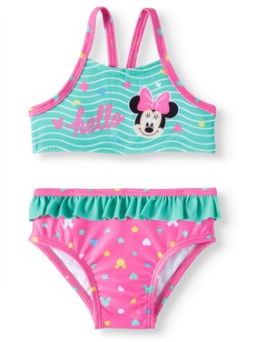 Baby Girls' Minnie Mouse Tank Bikini Swimsuit