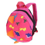 Akozon Backpack Harness Dinosaur School Bag Shoulder Backpack with  Anti-lost Safety Leash for 1 3366c3557e29e