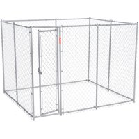 Lucky Dog Boxed Kennel Chain Link