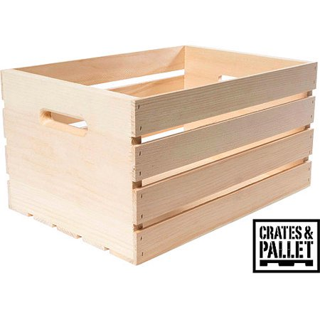 Crates and Pallet Wood Crate, Large
