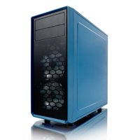 Fractal Design Focus G ATX Mid Tower Computer Case - Petrol Blue