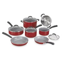 Cuisinart Advantage Ceramica Xt Non-Stick 11 Pc. Set In Red
