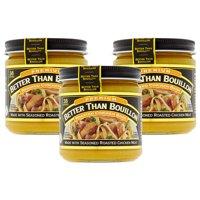 (3 Pack) Better Than Bouillon Premium Roasted Chicken Base, 8 oz