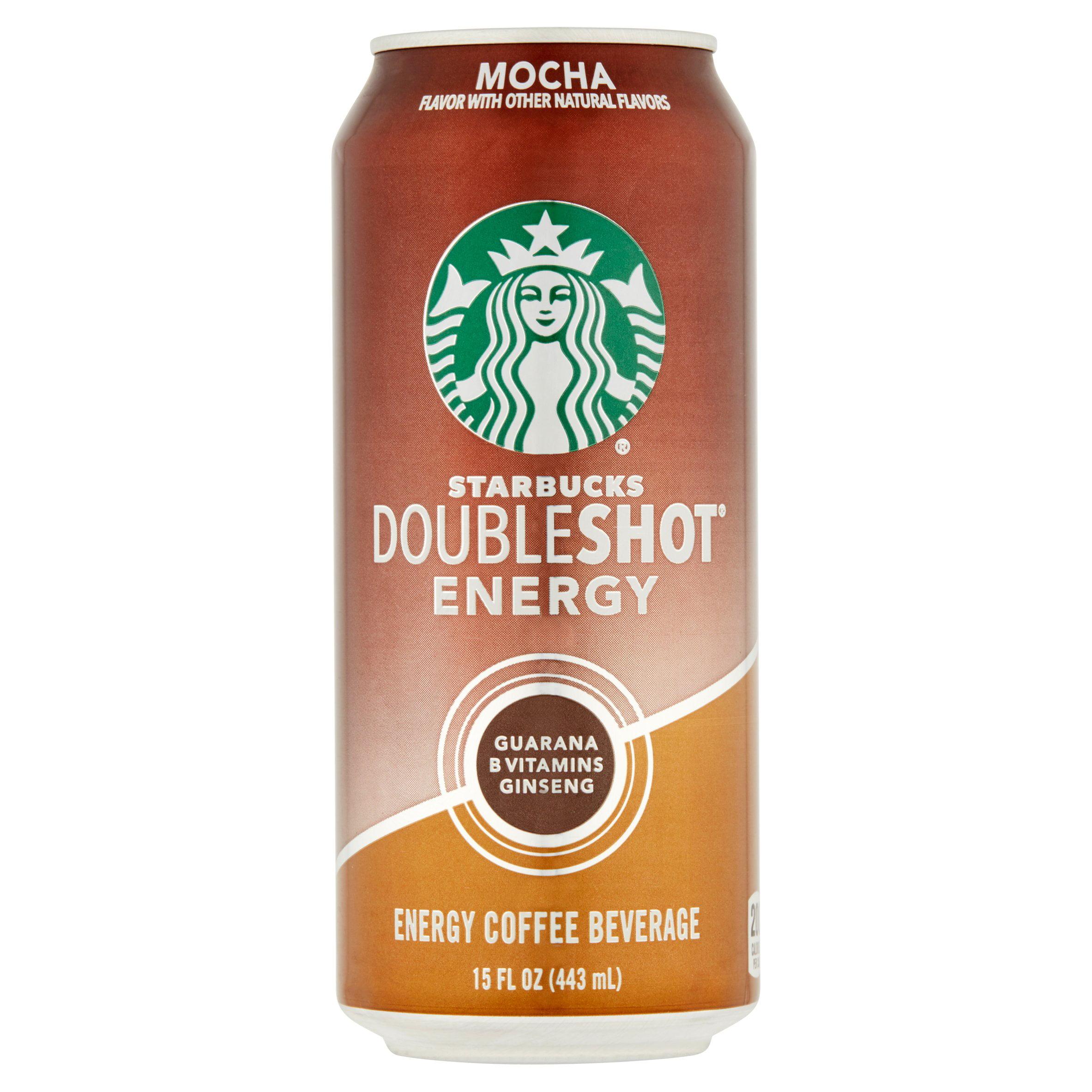 Starbucks Doubleshot Mocha Energy Coffee Beverage 15 Fl Oz