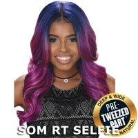 Sis Royal Pre-Tweezed Part Swiss Lace Front Wig - NOVA (4 Medium Brown)