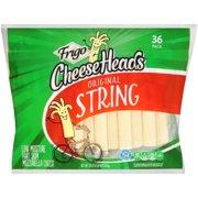 Frigo Cheese Heads Mozzarella String Cheese, 36 Oz., 36 Count