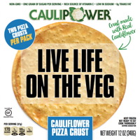 Caulipower Cauliflower Pizza Crust, 12 oz, 2 Count