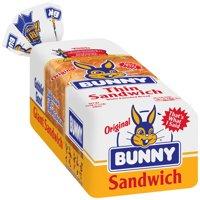 Bunny Original Thin Sandwich White  Bread, 24 oz