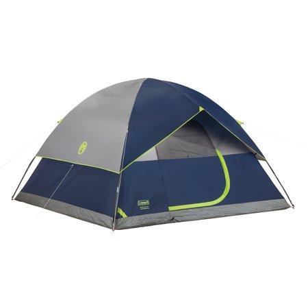Coleman Sundome 6-Person Dome Tent](Person In A Cage)