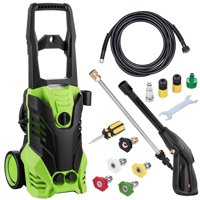 Universal Electric Pressure Washer On Sale Soap 1800W 3000 PSI 1.7 GPM with Power Hose Nozzle Gun and 5 Quick-Connect spray tips