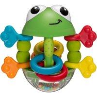 Infantino Topsy Turvy Flip Flop Frog Rattle