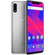 BLU Vivo XI+ V0311WW 128GB Unlocked GSM Dual-SIM Android Phone w/ Dual: 16MP Camera - Silver