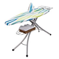 Honey Can Do Ironing Board with Iron Rest and Shelf