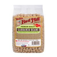 (2 Pack) Bobs Red Mill Garbanzo Beans, 25 Oz
