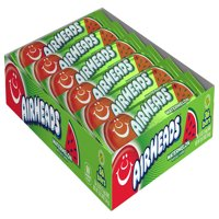 Airheads Candy Individually Wrapped Bars, Watermelon, 0.55 Ounce (Bulk Pack of 36)