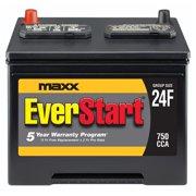 EverStart Maxx Lead Acid Automotive Battery, Group 24F